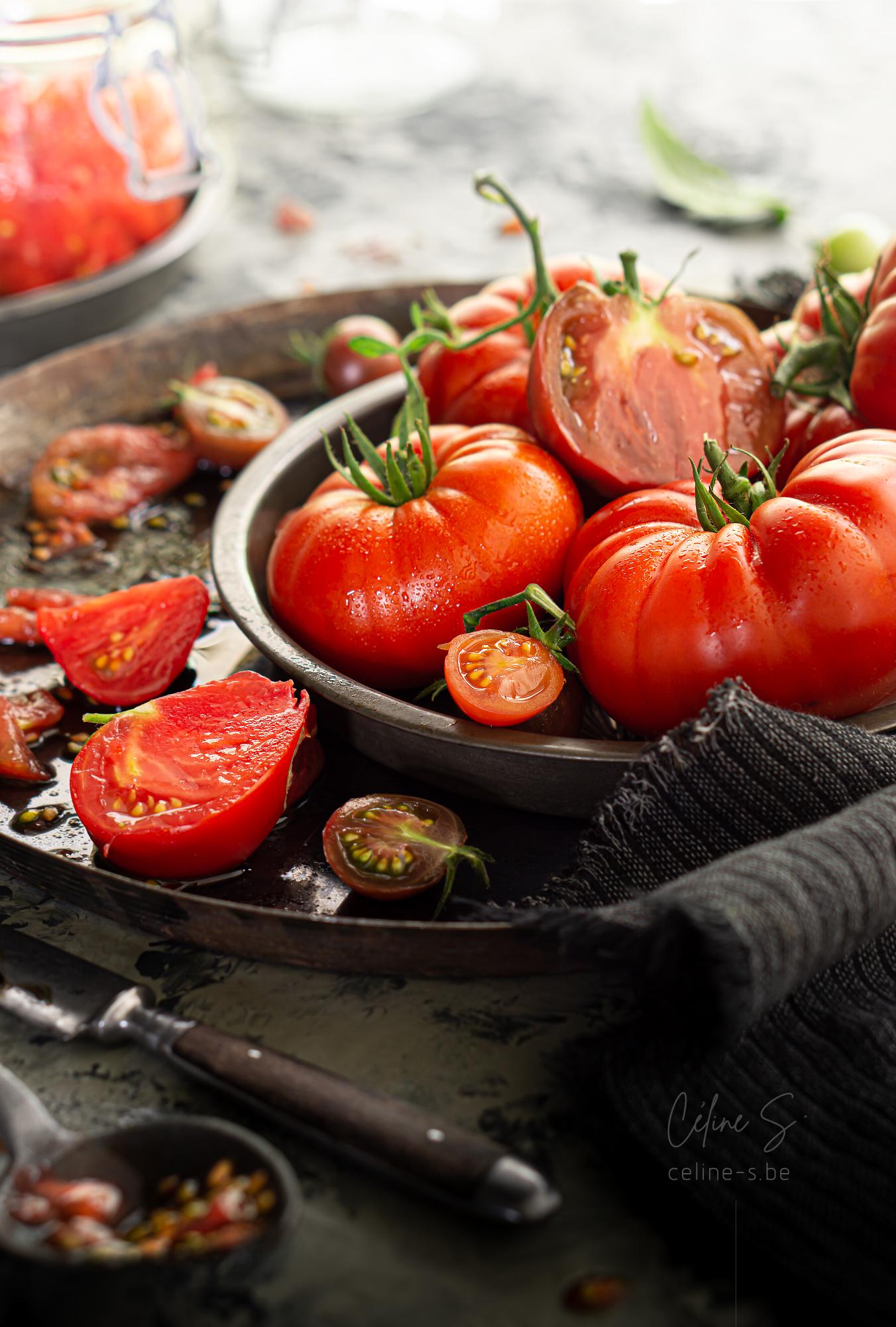 Céline stiévenard - photographe styliste food - tomates